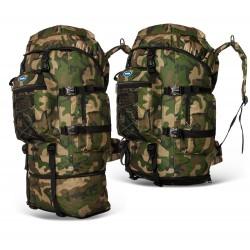 Plecak Moro Wojskowy wędkarski 65+15L 80l