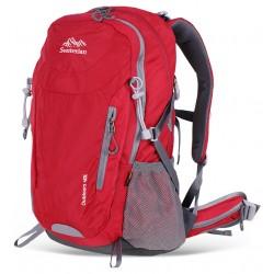 Plecak z siatką oddychającą na plecach