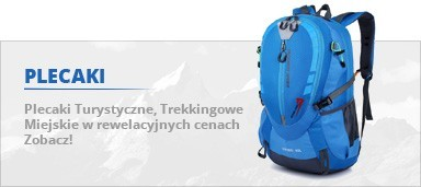Plecak Turystyczne Trekkingowe z siatką Miejskie na laptop